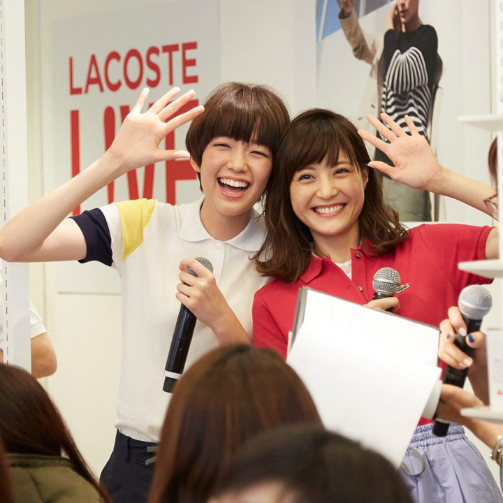 LACOSTE x MORE インストアイベント