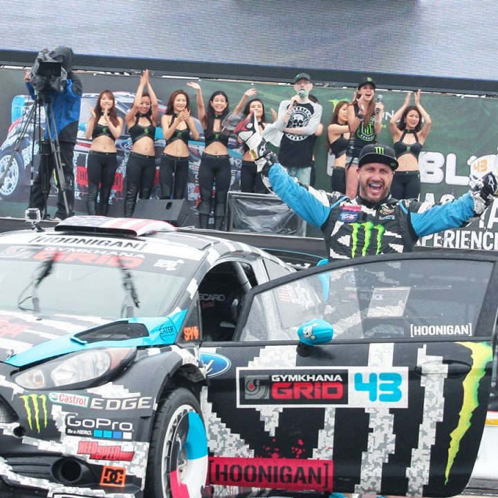 Ken Block Nagoya Experience with D1